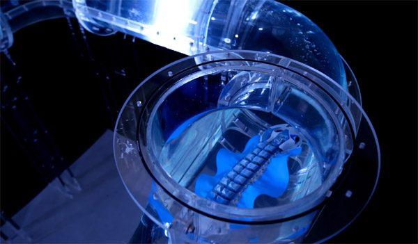 De BionicFinWave is een autonome waterrobot