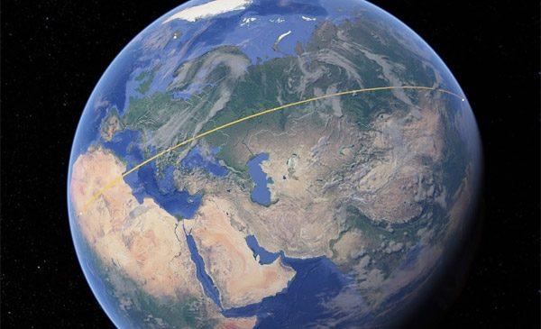 In Google Earth kun je nu oppervlaktes en afstanden meten