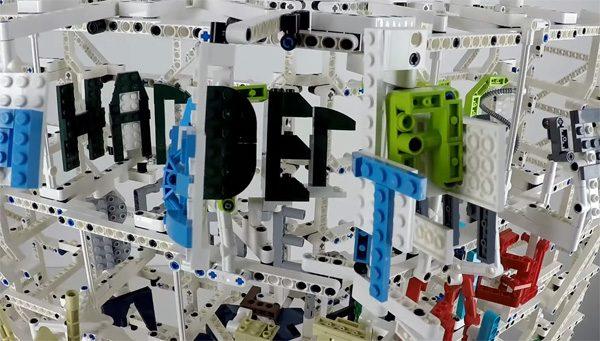 De briljante combinatie van Lego en Daft Punk