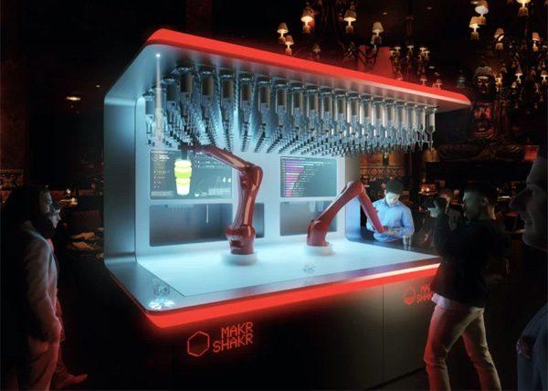 Deze robotarmen maken perfecte cocktails