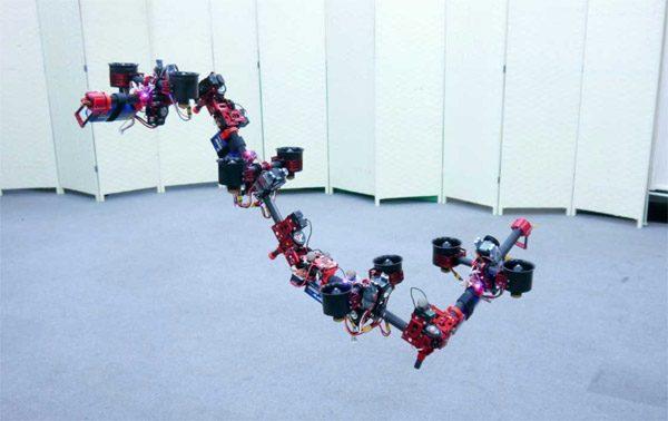 Wetenschappers hebben een vliegende robotdraak ontwikkeld