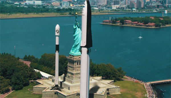 De ontzagwekkende omvang van de raketten van SpaceX