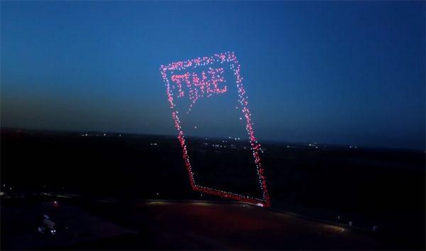 De nieuwste cover van Time Magazine is gemaakt met drones