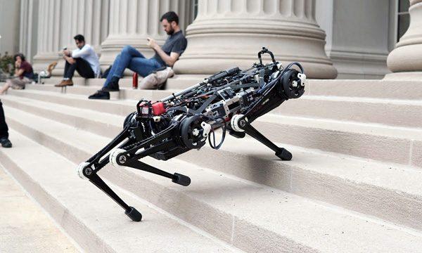 De indrukwekkende Cheetah-robot van het MIT wordt steeds slimmer