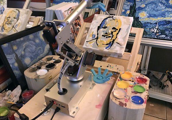 CloudPainter: een robotschilder die steeds beter wordt