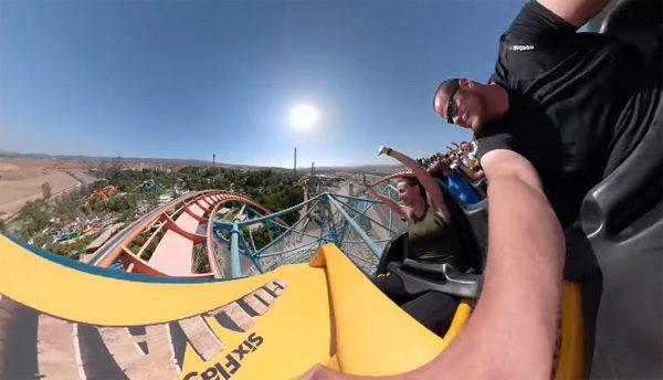 Een wonderlijk ritje in de achtbaan met de GoPro Fusion