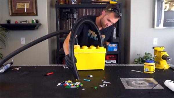 Zo maak je een stofzuiger voor LEGO-blokjes