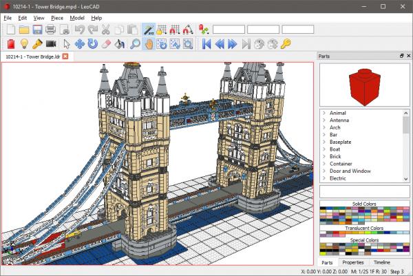 Leocad Software Om Digitale Lego Creaties Te Maken