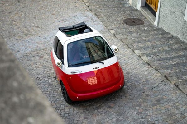 Microlino: een piepkleine elektrische stadsauto
