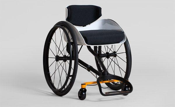 Reagiro: een rolstoel die je laat leunen om te sturen