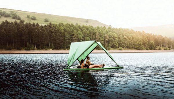 Universe Tent: de tent waarmee je ook op het water kunt
