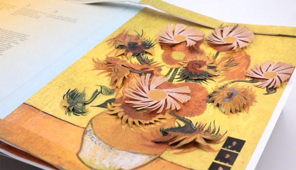 Nieuw type papier reageert op kleine elektrische ladingen