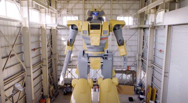 Zo wordt de grootste robot ter wereld gebouwd