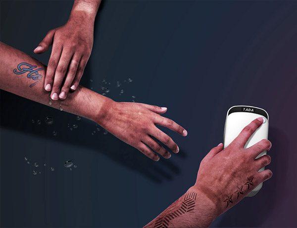 Prinker: tijdelijke tatoeages die na drie dagen verdwijnen