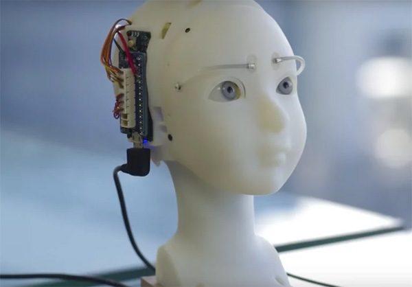 Deze robot heeft zeer overtuigende gezichtsuitdrukkingen