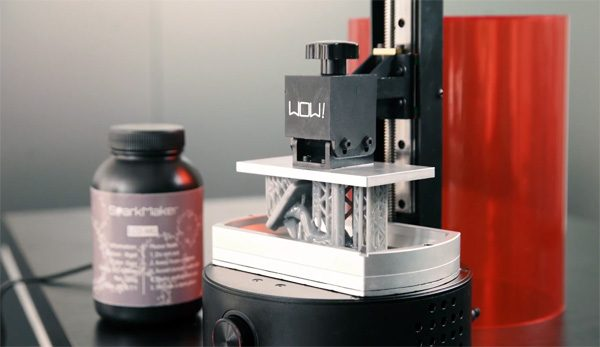SparkMaker FHD: een high-res SLD 3D-printer