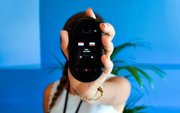 De vertaalmachine van het Rotterdamse Travis gaat keihard op Indiegogo
