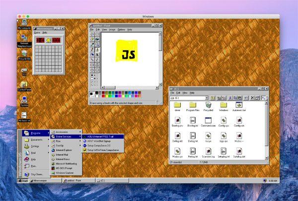 Je kunt nu Windows 95 downloaden op Windows en macOS