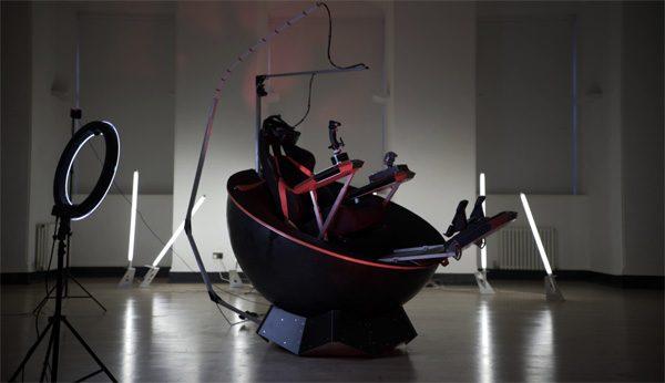 Feel Three: een stoel die gemaakt is voor VR