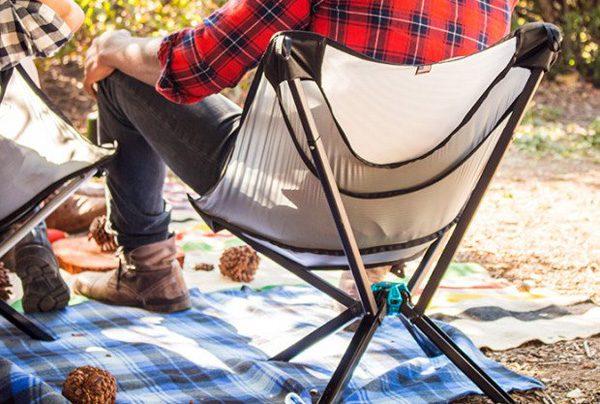 Go Chair: een opvouwbare stoel ter grootte van een waterflesje