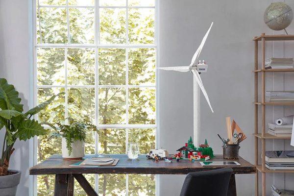 Lego lanceert een windturbine gemaakt van plantaardige blokjes
