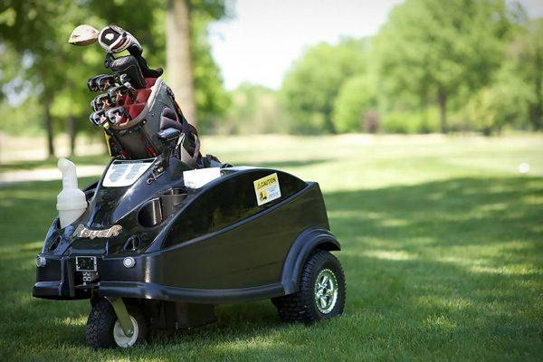 Rover: een autonoom karretje dat je golfclubs draagt