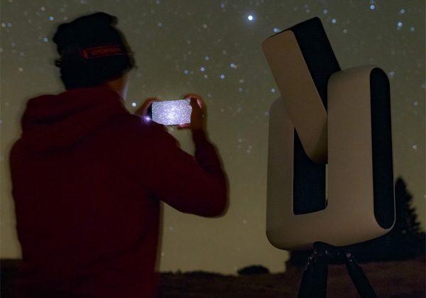Stellina: de telescoop die automatisch mooie sterren opzoekt