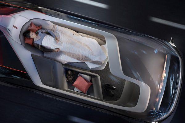 Volvo ontwikkelt een autonome slaapkamer op wielen