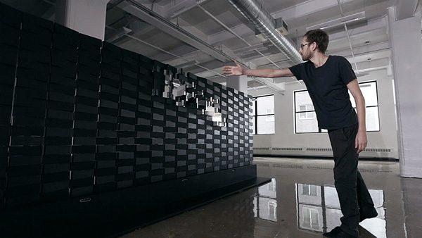 Brixel Mirror: een indrukwekkende interactieve installatie