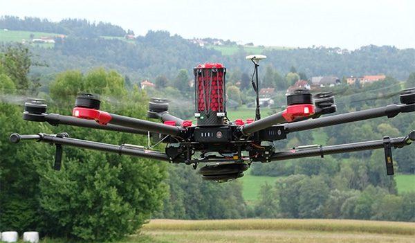 Dankzij een innovatieve parachute valt jouw drone niet te pletter
