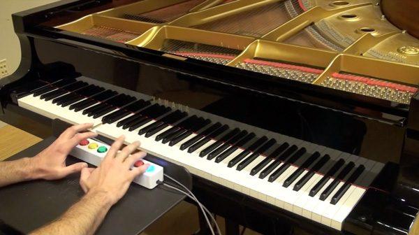 Google's Piano Genie gebruikt AI om jou te laten pianospelen