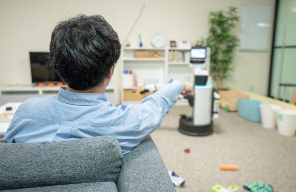 Deze Japanse robot ruimt automatisch je kamer op