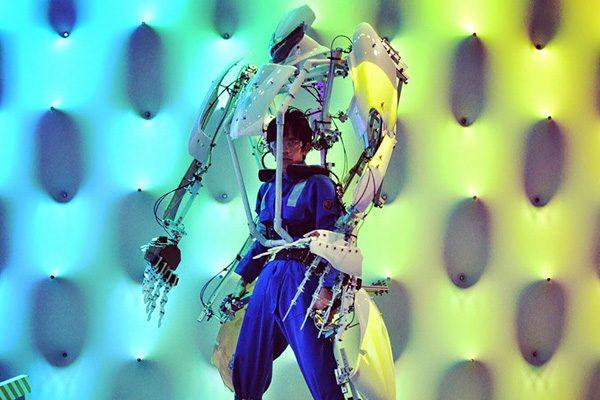 Skeletonics: een exoskelet voor verkleedpartijtjes