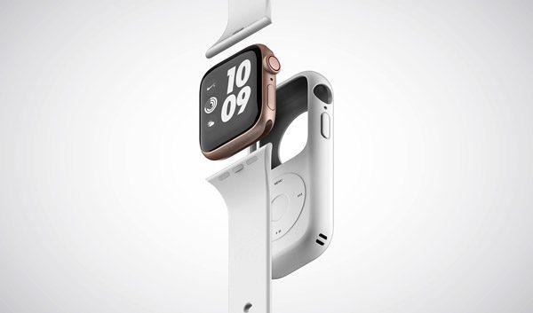 Dit hoesje maakt een iPod Nano van je Apple Watch
