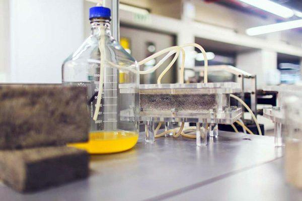 Wetenschappers kunnen nu bakstenen maken van urine