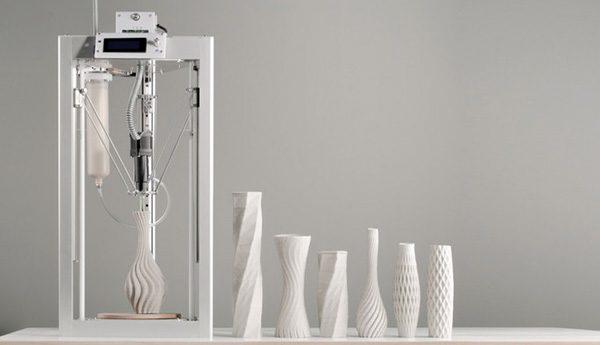 Cerambot: een 3D-printer voor klei