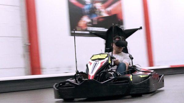 Er is een racebaan in ontwikkeling waar je in VR kunt karten