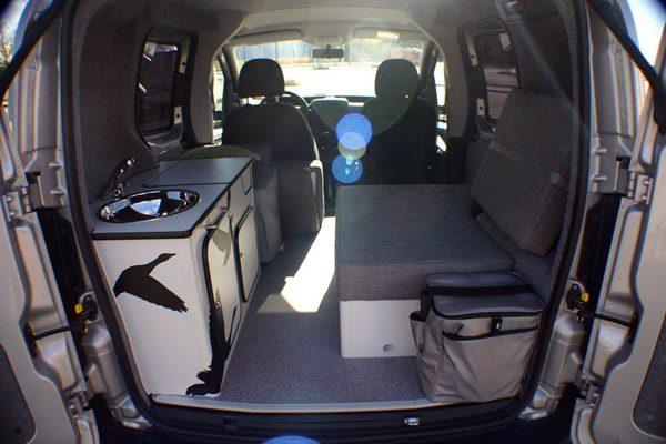Flexcamper: een eenpersoons-camper in een bescheiden Fiat