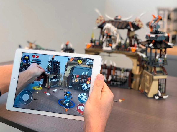 Lego Playgrounds combineert Lego met augmented reality