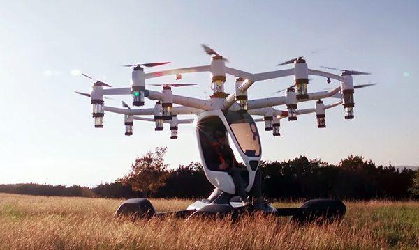 Lift: een autonome drone voor personenvervoer
