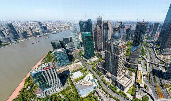 Indrukwekkende foto van Sjanghai bevat 195 biljoen pixels