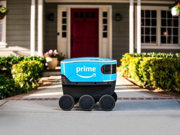 Dit is de robot waarmee Amazon pakketjes gaat bezorgen