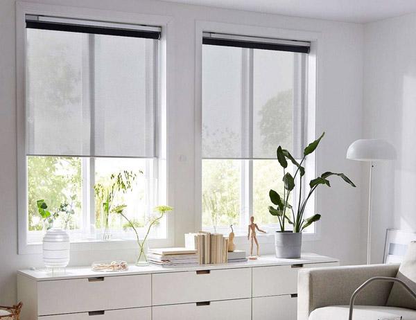 smart window blinds: slimme luxaflex van ikea