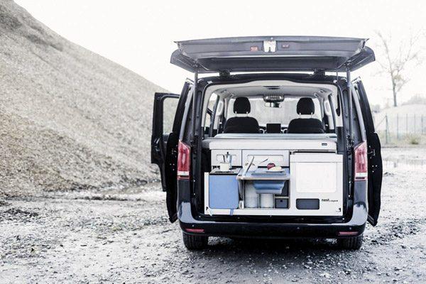 Met de Nestbox tover je een busje om tot een camper