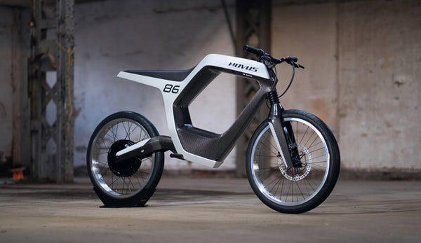 De Novus is een wonderschone elektrische motorfiets