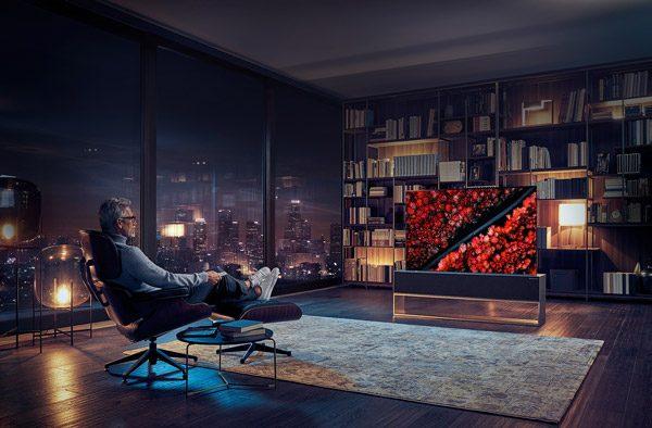 Fenomenaal: de oprolbare televisie's van LG