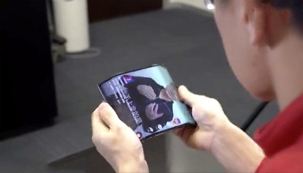 De opvallende opvouwbare smartphone van Xiaomi