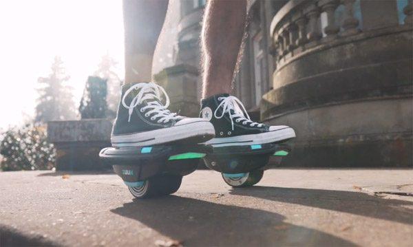 Zuum: elektrische rolschaatsen met zelfbalancerende technologie