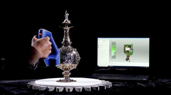 Musea gebruiken 3D-scanners en printers om kunst te analyseren en te bewaren