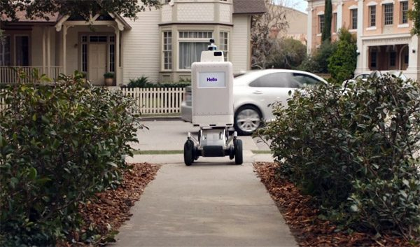 FedEx ontwikkelt een autonome robot voor pakketbezorging